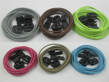 Weiou Elastic No Tie Reflective Tying Shoelaces, easy lock lace shoelace