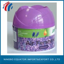 Beautiful colourful natural home gel car air fresheners