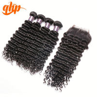 black girl extensions kinky curly human weave cheapest curly kids hair pieces