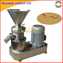 Neweek stainless steel tahini production or peanut butter colloid mill