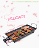 Plate Roast Grill plate griddle XL Princess Electric bbq grill,indoor bbq grill,korean electric bbq grill