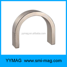 cast alnico U shape magnets