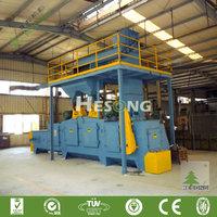 CE Approval Spring Shot Blasting Machine / Micro Sandblasting Equipment