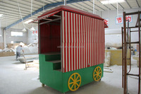 fiberglass movable fruit stand food stall