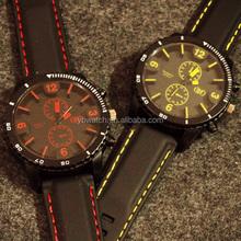 2015 sell well market fashion dom alloy quartz watch men