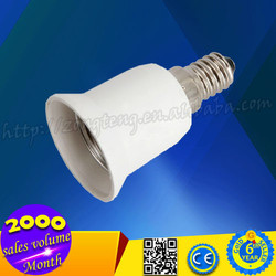 High Quality E14 To E27 Lamp Adapter