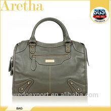 2015 Autumn fashion lady pure female oem real leather bag manufacturer