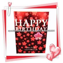 hechos a mano de los diseños de tarjetas de cumpleaños