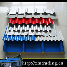 building material color coated 0.3-0.8mm thick ppgi metal sheet