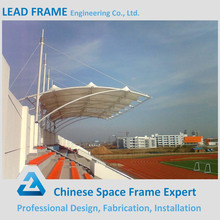 Long span steel structure design for bleacher
