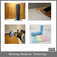 PET Viscose Nonwoven Wipes Non Woven Cleaning Cloth for Kitchen