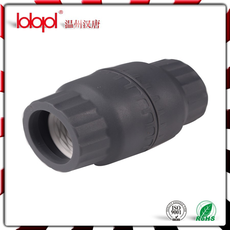 Union coupling hdpe compression fittings push fit coupler