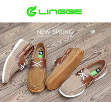 odm service best selling hot chinese men leather casual shoes