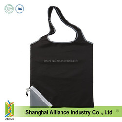 fold up reusable shopping bags/fold up reuseable bag/charity whip-round foldable bag