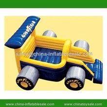China new design inflatable truck bouncer / pvc tarpaulin inflatable bouncers