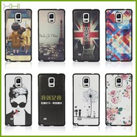 Ultra thin hard pc back cover case for samsung galaxy note 4