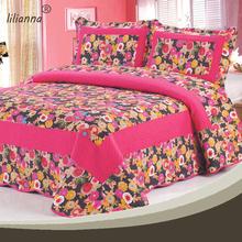 Wholesale tencel red rose pattern bedding set