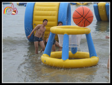 Inflatable Pool Shootball Toy Basketball Game Hoops Games Summertime Water Family Fun