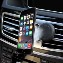 Magnetic Car Air Vent Mount Smartphone Holder Cradle Universal Cell Phone Holder for Iphone Sumsung mobile phones holder