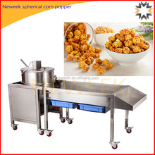 Neweek commercial large automatic gas spherical corn popper