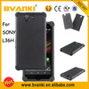 High Class Mobile Phone Case Double Cell Phone Case For Sony L36H Hard Back Cover Silicon PC Case