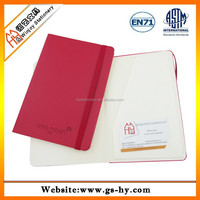 Fancy notebook with pu cover and embossed logo