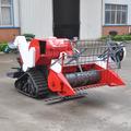 sobre orugas de la rueda de la cosechadora de la máquina para el arroz