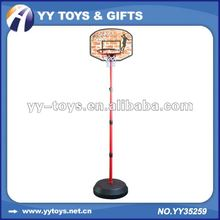 Adjustable height of basketball set for kids