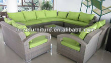 Garden furniture China fashion rattan sofa,leisure ways patio furniture