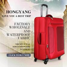 ladies fashion laptop bright color travel luggage trolley bag