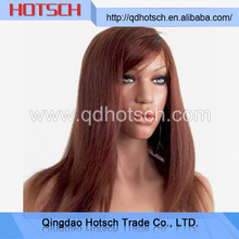 Newest best short blonde human hair full lace wig