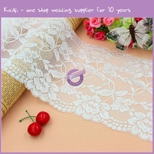 k8127 2016 kaiqi Hot sell good quality embroidery Lace Fabric with sequin lace