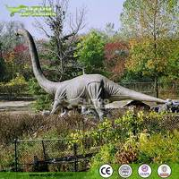 Large Animatronics Dinosaur Sculpture