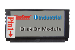 Vertical+Socket IDE DOM 44 pin MLC Dual channel 4GB Dom (Disk on Module) for pos machine,Server, Industrial Storage Equipment