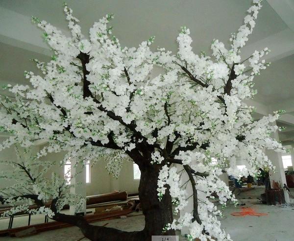 Hoa Dao Gia Hoa Giả Cây Hoa Bằng Nhựa