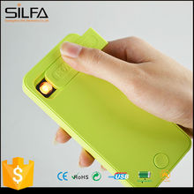 Silfa 2015 world smallest mobile phone news power bank with electronic cigarette lighter