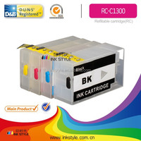 2015 hot sale refilling ink cartridges PGI1300 with chip manufacturer and new arrival