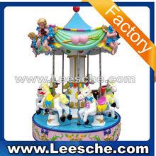 coin operated carousel amusement kiddie kiddy rides amusement park rides arcade simulator game machine for children game center