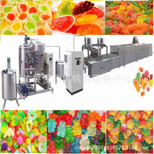 Hot Sale Jelly candy depositing Machine jelly candy production line soft candy machine