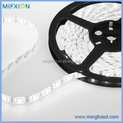 10mm Remote control single color white/warm white/red/greeen/blue IP65 SMD 5050 60 chips flexible led strip with CE ROHS