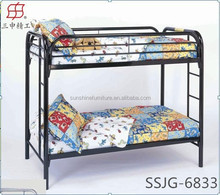 Hot sale Metal dormitory used bunk beds : Good looking: Factory Price