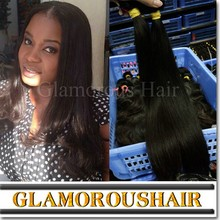 Grade 7A Virgin Remy Straight 100% Raw Indian Hair,Indian Virgin hair