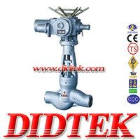 DIDTEK Power Station Globe Valve