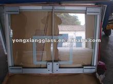 Fiber glass basketball backboard