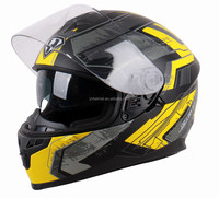 popular DOT ECE NBR double visor motorcycle helmet