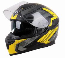 popular DOT ECE NBR double visor motorcycle helmet
