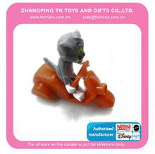 Animales juguetes de plástico --- del juego del gatito set para niños