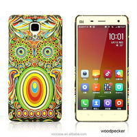 Luminous Case in Dark Touch Printing Leopard Fashion Cell Phone Cover for iPhone 6/6Plus