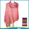 2015 new desgin fashion striped scarf