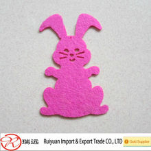 Wool felt animal for home decoration
